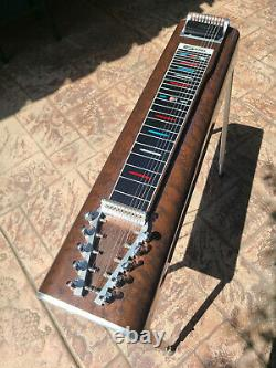 Vintage Sierra Artist 3x4, 10 String Pedal Steel Guitar With Crate Flight Case