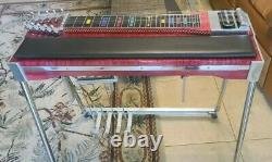 Williams SD10 4X5 Series 600 Pedal Steel Guitar withHard Case! ExCond