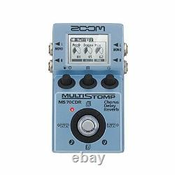 ZOOM MS-70CDR Multi Guitar Effector Spatial Effect Pedal Brand New