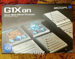 Zoom G1on Multi-Effects Guitar Effect Pedal. Brand new