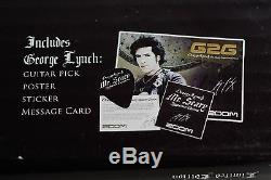 Zoom G2G George Lynch Signature Guitar Multi Effect Pedal BRAND NEW IN BOX