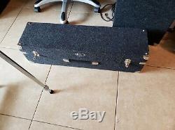 Zum Steel Encore 4X5 Pedal Steel Guitar hard case ExCond