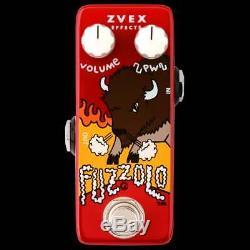 Zvex Fuzzolo Micro Sized Guitar or Bass Fuzz Effect Pedal Brand New